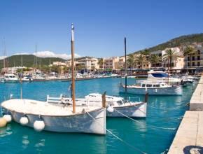 Balearen Balearische Inseln Mallorca Hafen