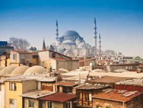 Türkei Istanbul Süleymaniye Moschee