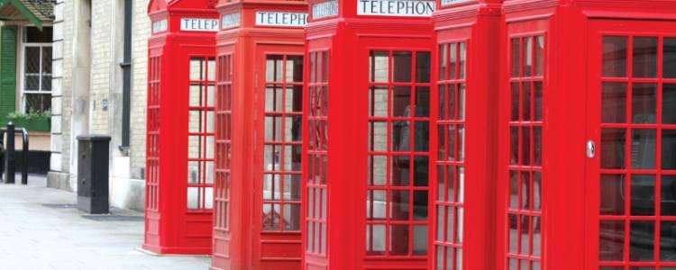 London, Urlaub, Reisen, Telefonzelle