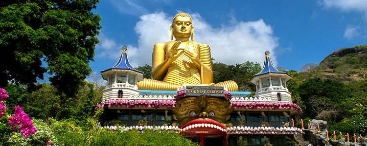 Sri Lanka, Koggala, Asien, Tempel, Buddha