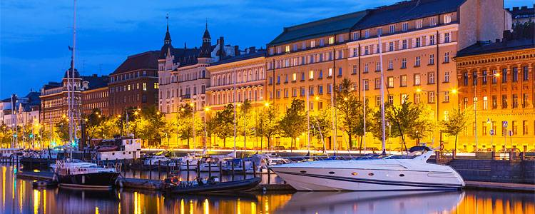 Helsinki, Finnland, Städtereise, Hafen